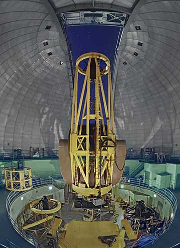 120-inch Shane telescope and dome