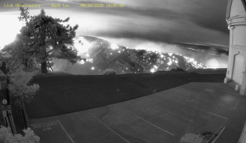CA Wildfire Lick