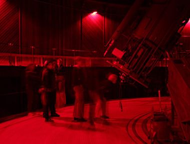Public Observing at 36-inch Refractor