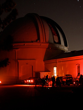 Great Lick Refractor Observing End