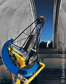 KAIT Telescope with Shane Dome in Background