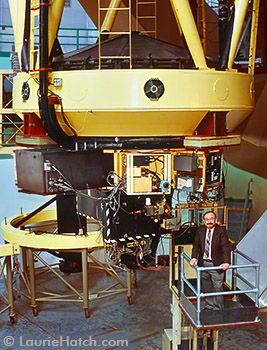 Former UCO Director Joe Miller and KAST Spectrograph