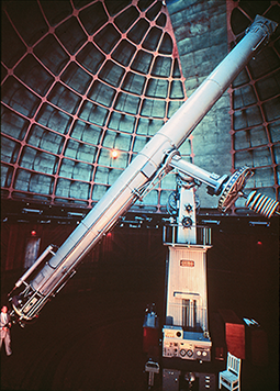 Lick 36-inch Refractor with Observer